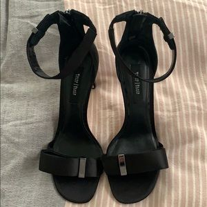 White House Black Market Strapy Heels
